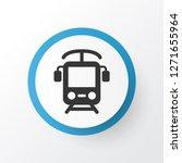 electric train icon symbol.... | Shutterstock .eps vector #1271655964