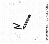 pencil icon  vector best flat...   Shutterstock .eps vector #1271677387