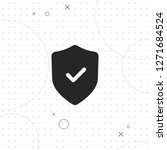 protection icon  vector best... | Shutterstock .eps vector #1271684524