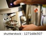 just push the button. fresh... | Shutterstock . vector #1271686507