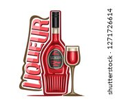 illustration of alcohol drink... | Shutterstock . vector #1271726614