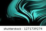 abstract emerald green... | Shutterstock . vector #1271739274