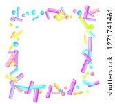 sprinkles grainy. sweet...   Shutterstock .eps vector #1271741461