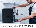 partial view of handyman in...   Shutterstock . vector #1271755381
