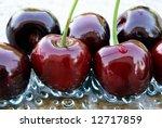 cherry in the water   Shutterstock . vector #12717859