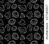 diamonds seamless pattern | Shutterstock .eps vector #127182017