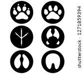 illustration icons  symbol... | Shutterstock .eps vector #1271859394