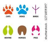 illustration icons  symbol... | Shutterstock .eps vector #1271859397