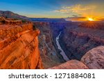 Small photo of Sunrise at Grand Canyon's Toroweap Overlook