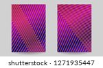 creative abstract geometric... | Shutterstock .eps vector #1271935447