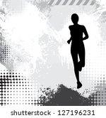 sport illustration | Shutterstock . vector #127196231