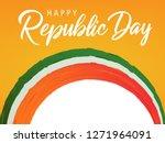 illustration of happy indian... | Shutterstock .eps vector #1271964091