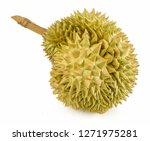 tropical fresh ripe durian... | Shutterstock . vector #1271975281