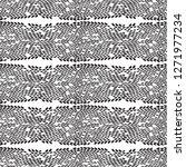 snake skin scales texture.... | Shutterstock .eps vector #1271977234