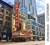 chicago  illinois  united... | Shutterstock . vector #1272043804