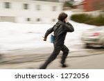 A Motion Blur Abstract Of A...