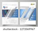 business templates for brochure ... | Shutterstock .eps vector #1272069967