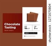 chocolate tasting event app...
