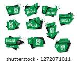 modern banner sale set eps 10... | Shutterstock .eps vector #1272071011