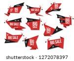modern banner sale set vector... | Shutterstock .eps vector #1272078397