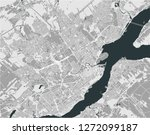 vector map of the city of...   Shutterstock .eps vector #1272099187
