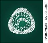 croissant icon inside... | Shutterstock .eps vector #1272118381