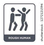 rough human icon vector on... | Shutterstock .eps vector #1272121594