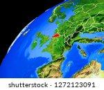 belgium from space. planet... | Shutterstock . vector #1272123091