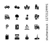 vector illustration of 16 icons.... | Shutterstock .eps vector #1272129991