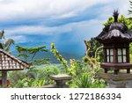 summer tropical landscape... | Shutterstock . vector #1272186334