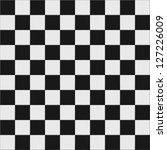 Black And White Checkered Floo...