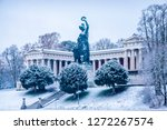 famous statue of bavaria at the ...   Shutterstock . vector #1272267574
