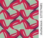 halftone color texture... | Shutterstock .eps vector #1272274681