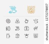 tea icons set. stovetop...