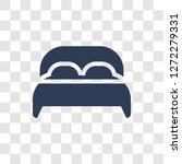 double bed icon. trendy double... | Shutterstock .eps vector #1272279331