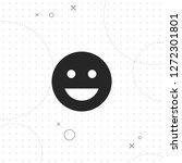 smile vector best flat icon on...   Shutterstock .eps vector #1272301801