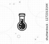 test tube icon  vector best...   Shutterstock .eps vector #1272313144