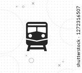 train icon  vector best flat...   Shutterstock .eps vector #1272316507