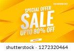 sale banner template design... | Shutterstock .eps vector #1272320464