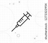vaccine icon  vector best flat...   Shutterstock .eps vector #1272322954