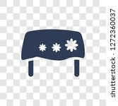table linens icon. trendy table ... | Shutterstock .eps vector #1272360037