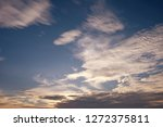 blue sky and clouds background | Shutterstock . vector #1272375811