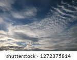 blue sky and clouds background | Shutterstock . vector #1272375814