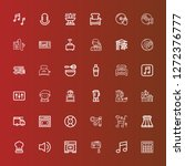 editable 36 mixer icons for web ...   Shutterstock .eps vector #1272376777