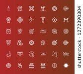 editable 36 hit icons for web...   Shutterstock .eps vector #1272390304