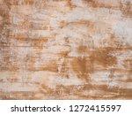 texture of orange concrete wall | Shutterstock . vector #1272415597