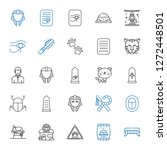 Cat Icons Set. Collection Of...