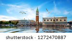 front view of san marco square... | Shutterstock . vector #1272470887