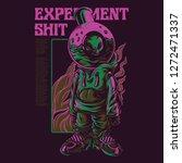 experiment shit illustration | Shutterstock .eps vector #1272471337