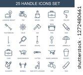 handle icons. trendy 25 handle... | Shutterstock .eps vector #1272480661
